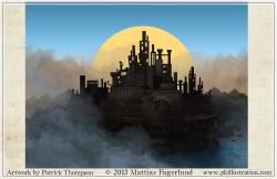 background factory city game machinist fabrique art illustration pkgameart