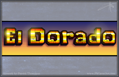 game logo text title slot machine el dorado maya aztec pkgameart