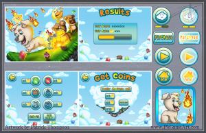 game mobile fireball flurry ui menu icons buttons text gui pkgameart