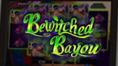 bewitched bayou logo text magic voodoo pkgameart organic bayou Louisiana