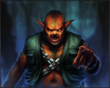 orc dagobah science ficiton fantasy space star wars fan art creature art illustration pkgameart