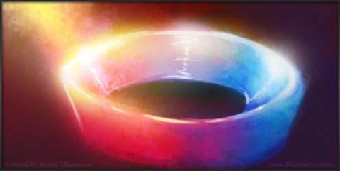 ring of fire sketch concept glowing art illustration pkgameart