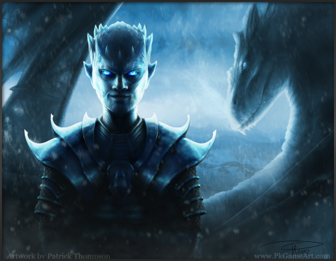 night king game of thrones other fan art spoiler dragon smile ice armor the north will remember art illustration pkgameart