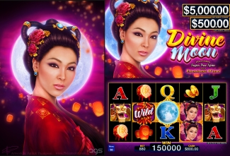 Divine Moon Slot Machine Game Artist Patrick Thompson