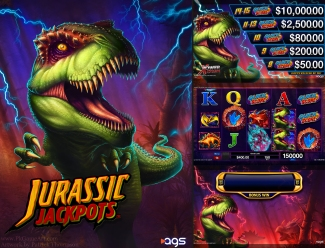 jurassic jackpots slot machine game artist patrick thompson