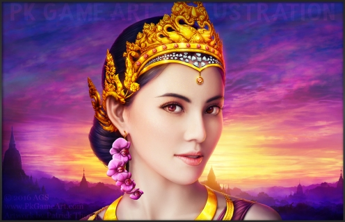 thai princess pkgameart